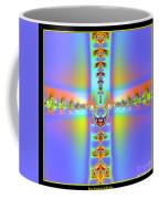 Fractal 7 Cross Coffee Mug