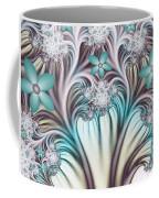 Fractal Abstract Fantasy Flower Garden 2 Coffee Mug