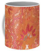 Fractal - Abstract - Japanese Motif Coffee Mug