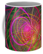 Fractal - Abstract - Loopy Doopy Coffee Mug by Mike Savad