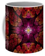 Fractal - Aztec - The All Seeing Eye Coffee Mug