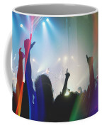 Fractal Beings 3-who Let The Show Go On Coffee Mug