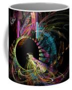 Fractal - Black Hole Coffee Mug