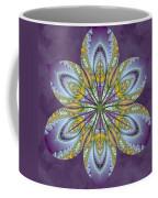 Fractal Blossom Coffee Mug by Derek Gedney