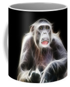 Fractal Chimp Coffee Mug