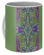 Fractal Cross Coffee Mug