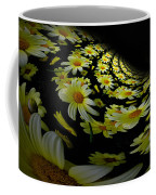 Fractal Daisies Coffee Mug