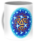 Fractal Escheresque Winter Mandala 10 Coffee Mug