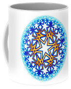 Fractal Escheresque Winter Mandala 2 Coffee Mug