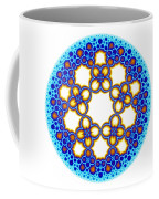 Fractal Escher Winter Mandala 3 Coffee Mug