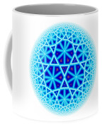 Fractal Escheresque Winter Mandala 4 Coffee Mug