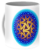 Fractal Escheresque Winter Mandala 6 Coffee Mug