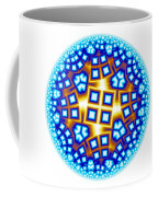 Fractal Escheresque Winter Mandala 9 Coffee Mug