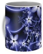 Fractal Fantasy Garden By Night Coffee Mug