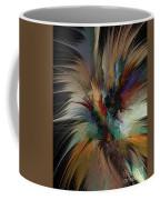 Fractal Feathers Coffee Mug