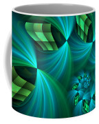 Fractal Gently Worn Coffee Mug