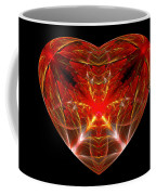 Fractal - Heart - Open Heart Coffee Mug