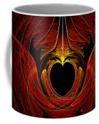 Fractal - Heart - Victorian Love Coffee Mug