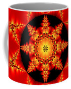 Fractal In The Centre Coffee Mug