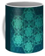 Fractal Interference Coffee Mug by Jason Padgett