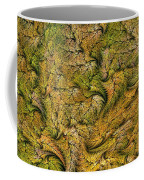 Fractal Leaf Mat-- 2 Coffee Mug