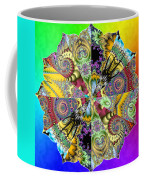 Fractal Lotus Zodiac Coffee Mug