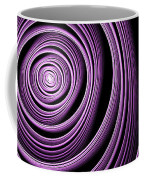 Fractal Purple Swirl Coffee Mug