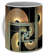 Fractal Semicircles Coffee Mug