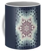 Fractal Snowflake Pattern 1 Coffee Mug
