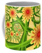 Fractal Summer Pleasures 2 Coffee Mug