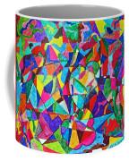 Fractured Kaleidoscope Coffee Mug