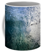 Fractured Tube. Coffee Mug by Sean Davey