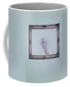 Framed Hand Coffee Mug