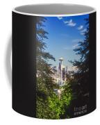 Framed Space Needle Coffee Mug