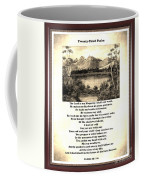Framed Vintage 23rd Psalm Sepia Coffee Mug