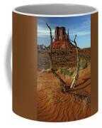 Framing Left Mitten Coffee Mug