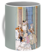 France In The 18th Century Coffee Mug by Georges Barbier