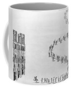 France Notre Dame, 1638 Coffee Mug