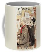France Paris Poster Of Paul Verlaine And Jean Moreas Coffee Mug