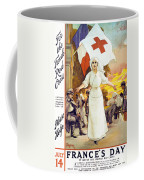 France's Day Coffee Mug by Anonymous