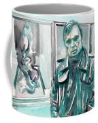 Francis Bacon Watercolor Portrait.3 Coffee Mug