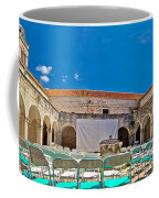Franciscian Monastery In Hvar Panorama Coffee Mug