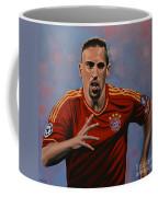 Franck Ribery Coffee Mug by Paul Meijering