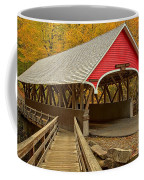 Franconia Notch Flume Gorge Bridge Coffee Mug