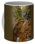 Franconia Notch Lush Greens And Rushing Waters Coffee Mug