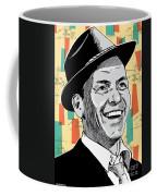 Frank Sinatra Pop Art Coffee Mug