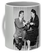 Frank Sinatra Signs For Fan Coffee Mug