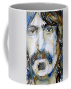 Frank Zappa Watercolor Portrait.2 Coffee Mug
