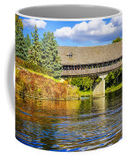 Frankenmuth Covered Bridge Coffee Mug