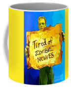 Frankenstein's Monster Turns Activist Coffee Mug